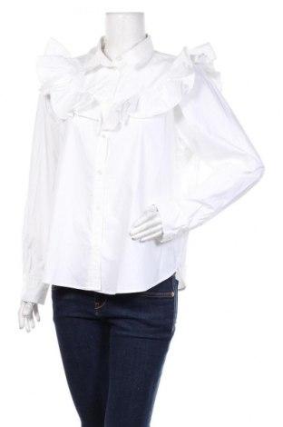 Damska koszula H&M, Rozmiar L, Kolor Biały, Bawełna, Cena 124,80zł