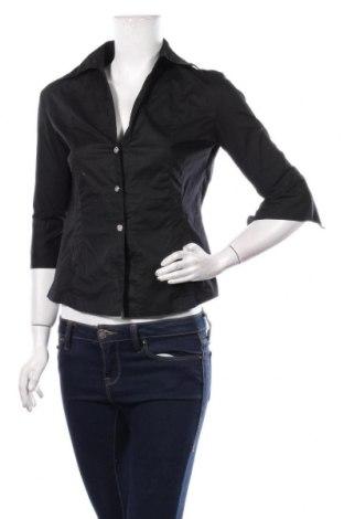 Дамска риза Jennifer Taylor, Размер M, Цвят Черен, 95% памук, 5% еластан, Цена 11,60лв.