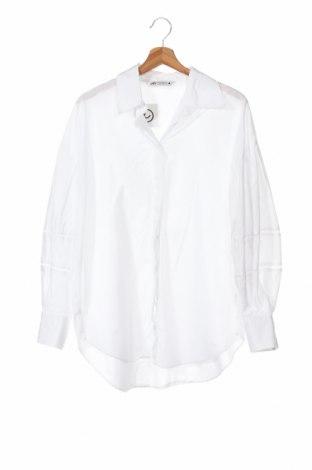 Dámská košile  Zara, Velikost XS, Barva Bílá, Bavlna, Cena  522,00Kč