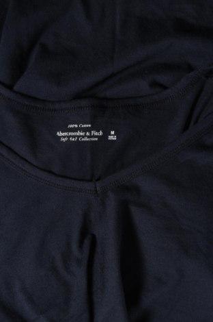 Дамска тениска Abercrombie & Fitch, Размер M, Цвят Син, Памук, Цена 42,00лв.