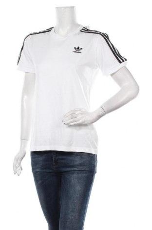 Дамска тениска Adidas Originals, Размер M, Цвят Бял, Памук, Цена 51,75лв.
