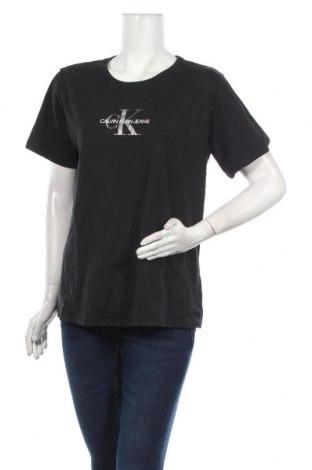 Tricou de femei Calvin Klein, Mărime XXL, Culoare Negru, Bumbac, Preț 157,90 Lei