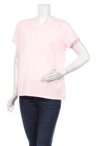 Tricou de femei Guess, Mărime M, Culoare Roz, Bumbac, Preț 145,56 Lei