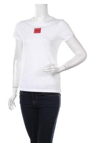 Γυναικείο t-shirt Hugo Boss, Μέγεθος S, Χρώμα Λευκό, Βαμβάκι, Τιμή 65,33€