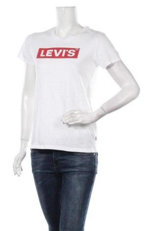 Tricou de femei Levi's, Mărime S, Culoare Alb, Bumbac, Preț 145,56 Lei