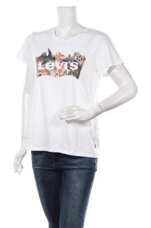 Tricou de femei Levi's, Mărime L, Culoare Alb, 100% bumbac, Preț 145,56 Lei