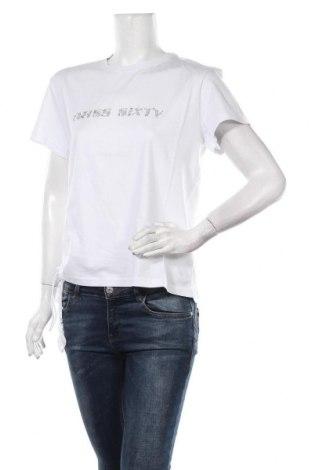 Дамска тениска Miss Sixty, Размер L, Цвят Бял, Памук, Цена 51,75лв.