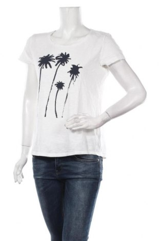 Дамска тениска Tom Tailor, Размер S, Цвят Бял, Цена 36,75лв.