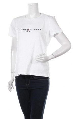 Γυναικείο t-shirt Tommy Hilfiger, Μέγεθος M, Χρώμα Λευκό, Βαμβάκι, Τιμή 30,54€