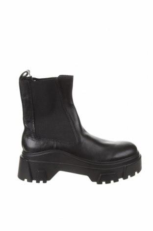 Dámské boty  Zara, Velikost 40, Barva Černá, Pravá kůže, textile , Cena  1518,00Kč