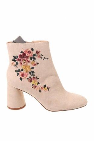 Dámské boty  Zara, Velikost 37, Barva Béžová, Textile , Cena  802,00Kč