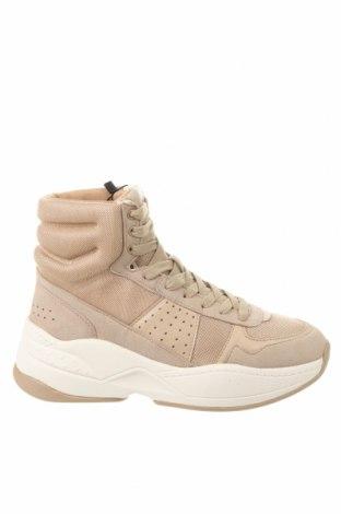 Dámské boty  Zara, Velikost 40, Barva Béžová, Textile , Přírodní velur , Eko kůže, Cena  776,00Kč