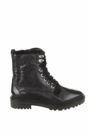Dámské boty  Zara, Velikost 37, Barva Černá, Pravá kůže, Cena  906,00Kč