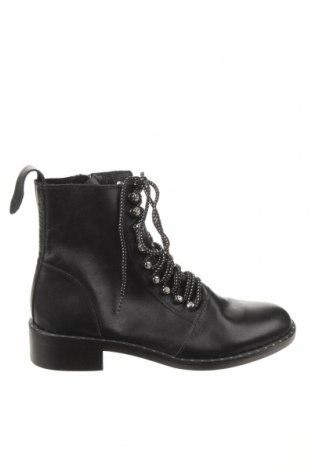 Dámské boty  Zara, Velikost 40, Barva Černá, Eko kůže, Cena  906,00Kč