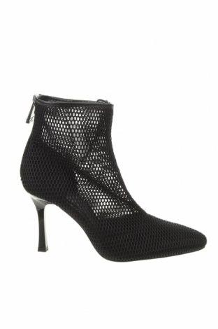 Dámské boty  Zara, Velikost 40, Barva Černá, Textile , Eko kůže, Cena  401,00Kč