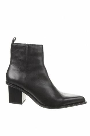 Dámské boty  Zara, Velikost 40, Barva Černá, Pravá kůže, Cena  540,00Kč