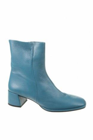 Dámské boty  Zara, Velikost 40, Barva Modrá, Pravá kůže, Cena  1108,00Kč