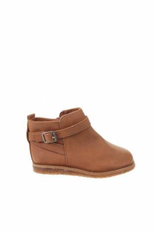Dětské boty  Zara, Velikost 21, Barva Hnědá, Eko kůže, Cena  350,00Kč