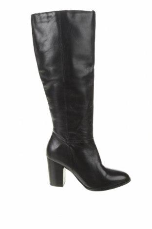 Γυναικείες μπότες Reserved, Μέγεθος 37, Χρώμα Μαύρο, Γνήσιο δέρμα, Τιμή 76,94€