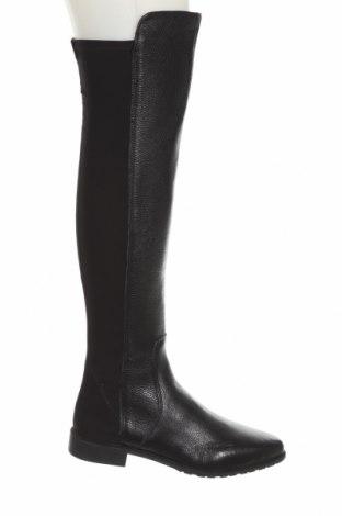 Dámské boty  Zara, Velikost 39, Barva Černá, Pravá kůže, textile , Cena  1511,00Kč