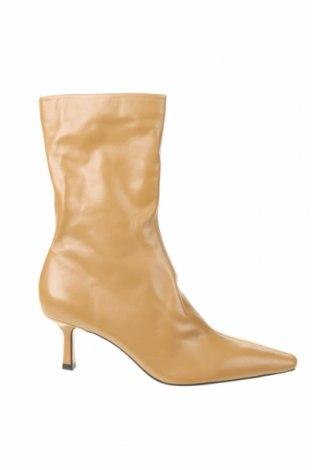 Dámské boty  Zara, Velikost 41, Barva Béžová, Pravá kůže, Cena  876,00Kč