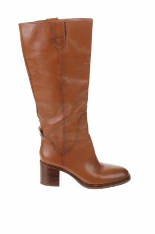 Dámské boty  Zara, Velikost 38, Barva Hnědá, Pravá kůže, Cena  1542,00Kč
