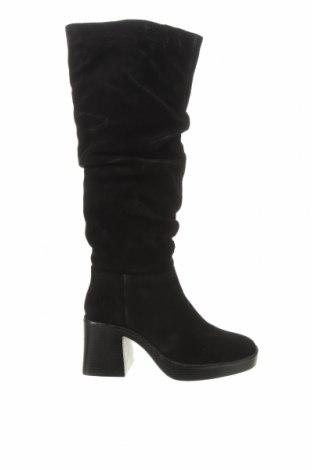 Dámské boty  Zign, Velikost 37, Barva Černá, Přírodní velur , Cena  2381,00Kč