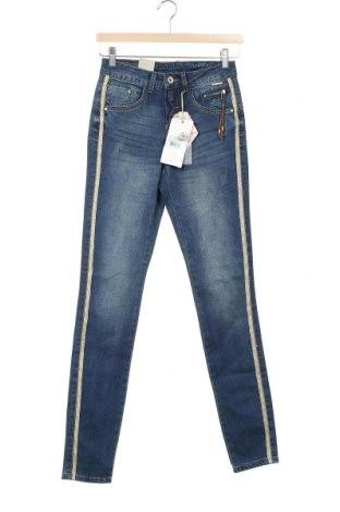 Дамски дънки Cream, Размер XS, Цвят Син, Цена 96,75лв.