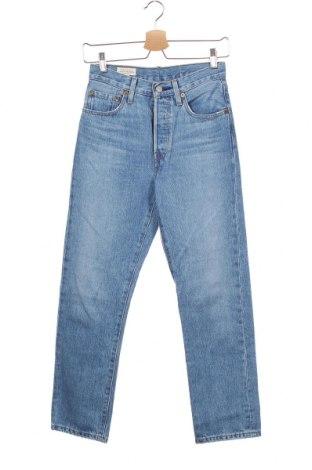 Дамски дънки Levi's, Размер XS, Цвят Син, Памук, Цена 119,25лв.