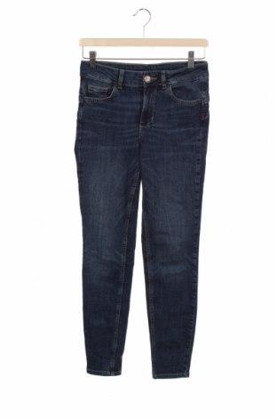Дамски дънки Liu Jo, Размер S, Цвят Син, 98% памук, 2% еластан, Цена 126,75лв.