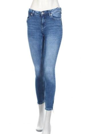 Дамски дънки ONLY, Размер M, Цвят Син, 92% памук, 8% еластан, Цена 48,00лв.