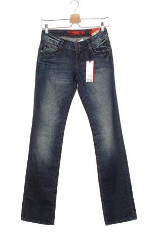 Дамски дънки Q/S by S.Oliver, Размер XS, Цвят Син, 99% памук, 1% еластан, Цена 66,75лв.