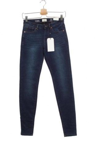Дамски дънки Q/S by S.Oliver, Размер XS, Цвят Син, 45% вискоза, 28% полиестер, 24% памук, 3% еластан, Цена 66,75лв.