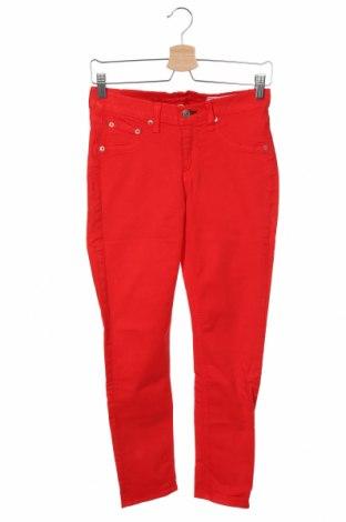 Dámské džíny  Rag & Bone, Velikost XS, Barva Červená, 96% bavlna, 4% vlákno, Cena  1052,00Kč