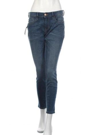 Дамски дънки Tom Tailor, Размер M, Цвят Син, 98% памук, 2% еластан, Цена 66,75лв.