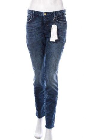 Blugi de femei Tom Tailor, Mărime L, Culoare Albastru, 98% bumbac, 2% elastan, Preț 146,38 Lei