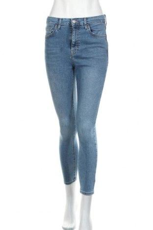 Дамски дънки Topshop, Размер S, Цвят Син, 93% памук, 7% еластан, Цена 64,50лв.