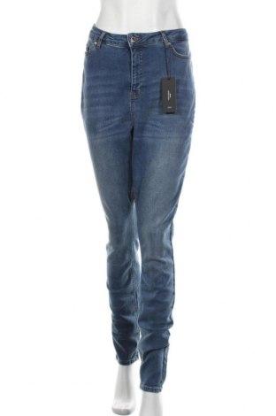 Blugi de femei Vero Moda, Mărime XL, Culoare Albastru, 98% bumbac, 2% elastan, Preț 167,76 Lei