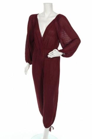 Дамски гащеризон Zara, Размер S, Цвят Червен, Полиестер, Цена 59,25лв.