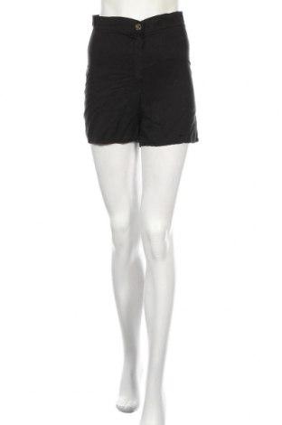 Дамски къс панталон Boohoo, Размер M, Цвят Черен, Лиосел, Цена 29,25лв.