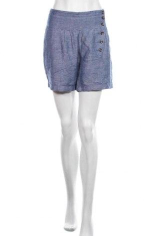 Pantaloni scurți de femei De.corp By Esprit, Mărime L, Culoare Albastru, 50% viscoză, 50% in, Preț 110,53 Lei