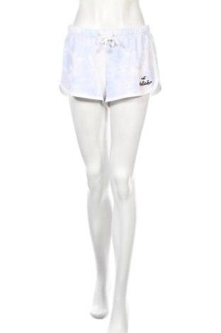 Pantaloni scurți de femei Hollister, Mărime M, Culoare Alb, 57% bumbac, 38% poliester, 5% elastan, Preț 86,84 Lei