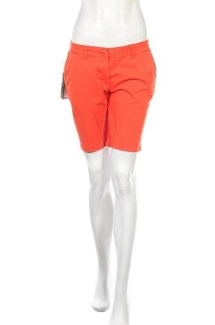 Pantaloni scurți de femei Napapijri, Mărime M, Culoare Portocaliu, 98% bumbac, 2% elastan, Preț 187,90 Lei