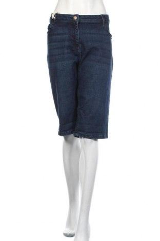 Pantaloni scurți de femei Next, Mărime XXL, Culoare Albastru, 94% bumbac, 5% poliester, 1% elastan, Preț 116,45 Lei
