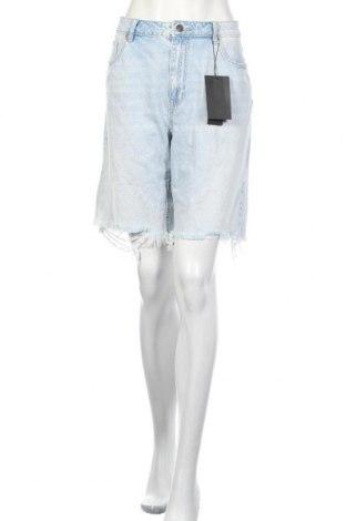 Дамски къс панталон Vero Moda, Размер XL, Цвят Син, Памук, Цена 17,70лв.
