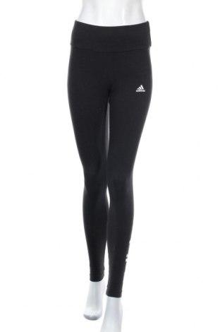 Γυναικείο κολάν Adidas, Μέγεθος S, Χρώμα Μαύρο, 93% βαμβάκι, 7% ελαστάνη, Τιμή 38,27€