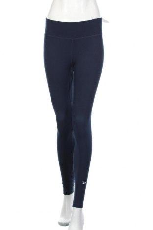Дамски клин Nike, Размер S, Цвят Син, 79% полиестер, 21% еластан, Цена 74,25лв.