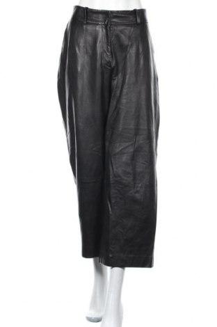 Дамски кожен панталон Ivy & Oak, Размер L, Цвят Черен, Естествена кожа, Цена 108,15лв.