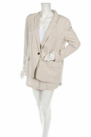 Damska garsonka H&M, Rozmiar XL, Kolor ecru, 51% bawełna, 49% wiskoza, Cena 155,25zł