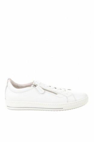 Γυναικεία παπούτσια Gabor, Μέγεθος 39, Χρώμα Λευκό, Γνήσιο δέρμα, Τιμή 46,01€